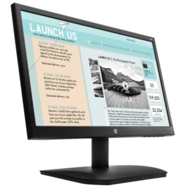 "MONITOR HP V190, 18.5"", RES. 1024X768, REL. A[...]"