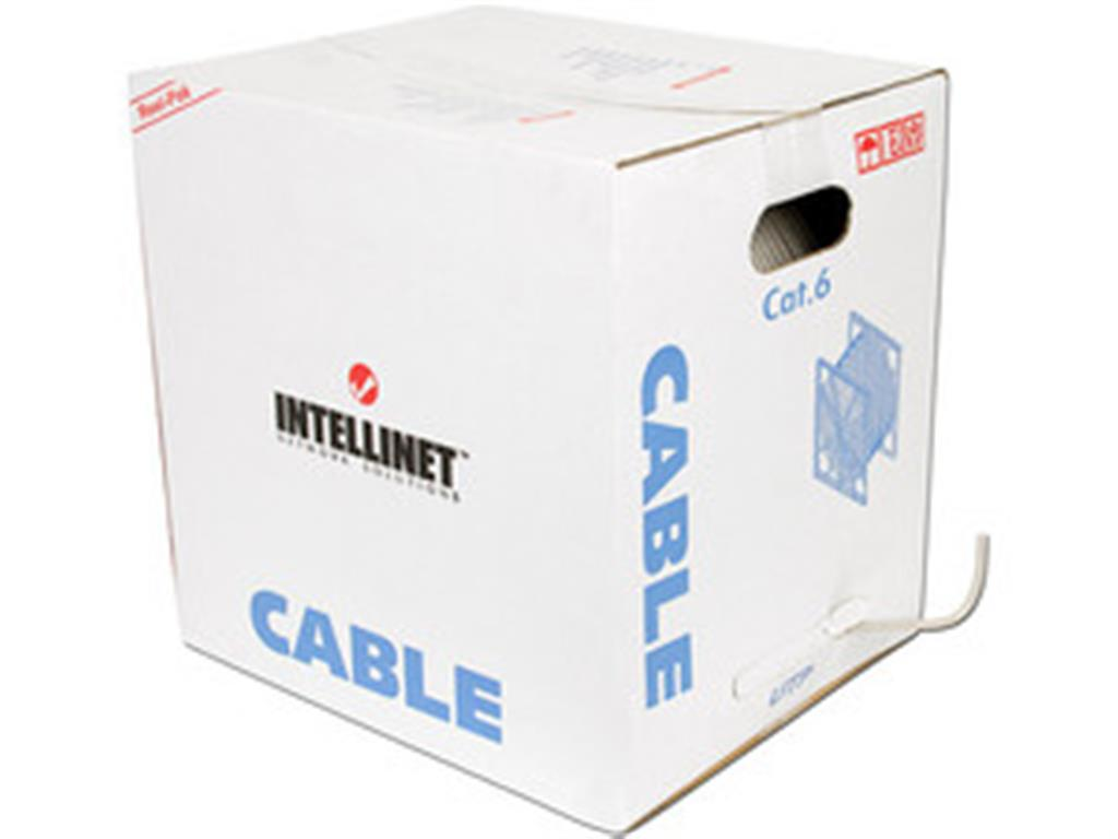 Intellinet  Cat6 Bulk 100% copper-1000ft/305m (no distance limit cable)